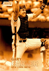 2016 Topps Stadium Club Gold 5X7 Print #158 Gary Carter/10