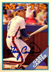 2005 Topps All-Time Fan Favorites Autographs #GC Gary Carter