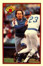 1989 Bowman Tiffany #379 Gary Carter