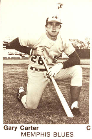 1975 International League All-Stars TCMA #21 Gary Carter