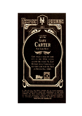 2012 Topps Gypsy Queen Mini Black #251 Gary Carter