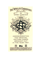 2017 Topps Allen and Ginter X Mini #324 Gary Carter SP