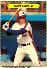 1983 Topps Sticker Boxes #2 Gary Carter