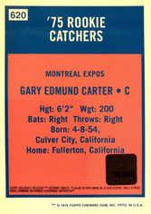2001 Topps Archives Reserve Rookie Reprint Relics #ARR29 Gary Carter Bat