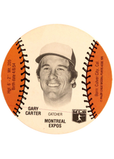 1977 Burger Chef Discs #154 Gary Carter