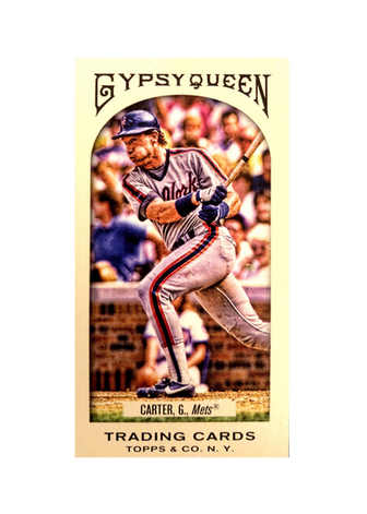 2011 Topps Gypsy Queen Mini #68B Gary Carter SP (Mets)