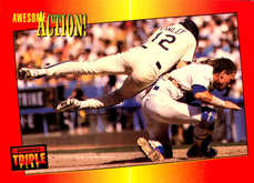 1992 Triple Play #26 Finley/Carter Awesome Action