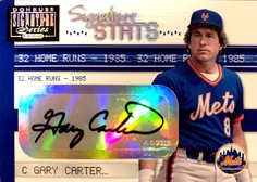 2001 Donruss Signature Stats #7 Gary Carter/32