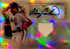 2009 Topps Tribute Autograph Relics #GC1 Gary Carter/99