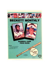 1985 Beckett Magazine Mini Promo (Issued by Beckett in 1999)