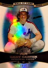 2006 Topps Triple Threads Sapphire #80 Gary Carter HOF/25