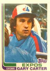 1982 Topps Blackless #730 Gary Carter