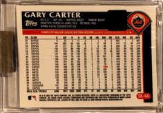 2003 Topps Retired Signature Autographs #GC Gary Carter B/77