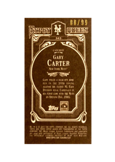 2012 Topps Gypsy Queen Mini Sepia #343 Gary Carter/99