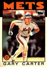 1986 Topps Tiffany #170 Gary Carter