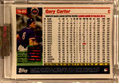 2005 Topps Retired Signature Autographs #GC Gary Carter/220
