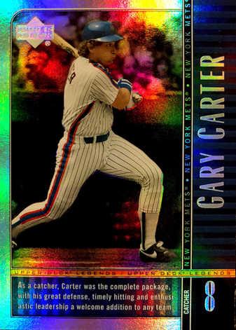 2000 Upper Deck Legends Commemorative Collection #34 Gary Carter/100