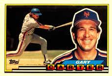 1989 Topps Big #325 Gary Carter
