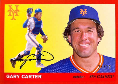 2020 Topps Archives Red #46 Gary Carter/75