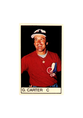 1983 All-Star Game Program Inserts #129 Gary Carter