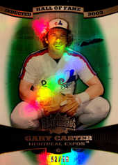 2006 Topps Triple Threads Emerald #80 Gary Carter HOF/99