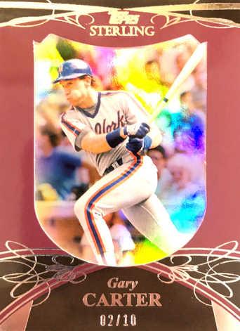 2010 Topps Sterling Framed Burgundy #114 Gary Carter/10