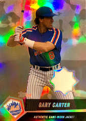 2004 Topps Clubhouse Black Relics #GC Gary Carter Jacket/25