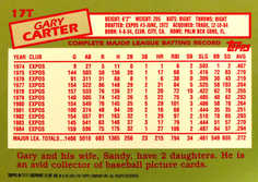 2001 Topps Traded #T111 Gary Carter 85
