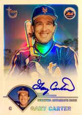 2003 Topps Retired Signature Autographs Refractors #GC Gary Carter/25