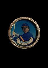 1987 Topps Coins #28 Gary Carter