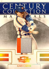 2008 Donruss Threads Century Collection Materials Prime #30 Gary Carter/10