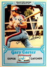 1981 Drake's #23 Gary Carter