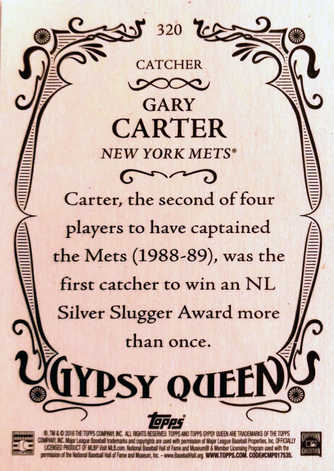 2016 Topps Gypsy Queen #320 Gary Carter SP