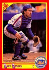 1990 Score #416 Gary Carter