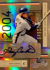 2004 Absolute Memorabilia Signature Spectrum Silver #131 Gary Carter/100