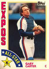 1984 Topps #393 Gary Carter AS