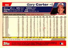 2004 Topps Retired Signature #94 Gary Carter