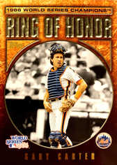 2008 Topps Update Ring of Honor 1986 New York Mets Gold #GC Gary Carter/25