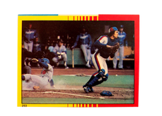 1982 Topps Stickers #253 Gary Carter PLAY