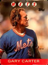 1986 Topps 3-D #2 Gary Carter