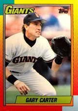 1990 Topps Traded #19T Gary Carter