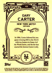 2013 Topps Gypsy Queen #48 Gary Carter