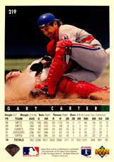 1993 Upper Deck #219 Gary Carter