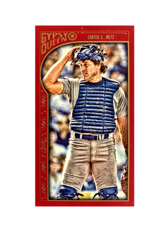 2015 Topps Gypsy Queen Mini Red #320 Gary Carter SP/50
