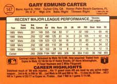 1990 Donruss #147 Gary Carter