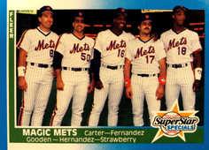 1987 Fleer #629 Magic Mets