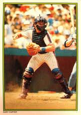 1986 Topps Glossy Send-Ins #23 Gary Carter