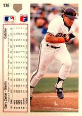 1991 Upper Deck #176 Gary Carter