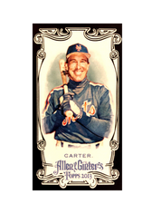 2013 Topps Allen and Ginter Mini Black #8 Gary Carter
