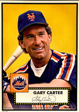 2015 Topps '52 Tribute Update Series Gold Edition 5X7 Print #12 Gary Carter/49